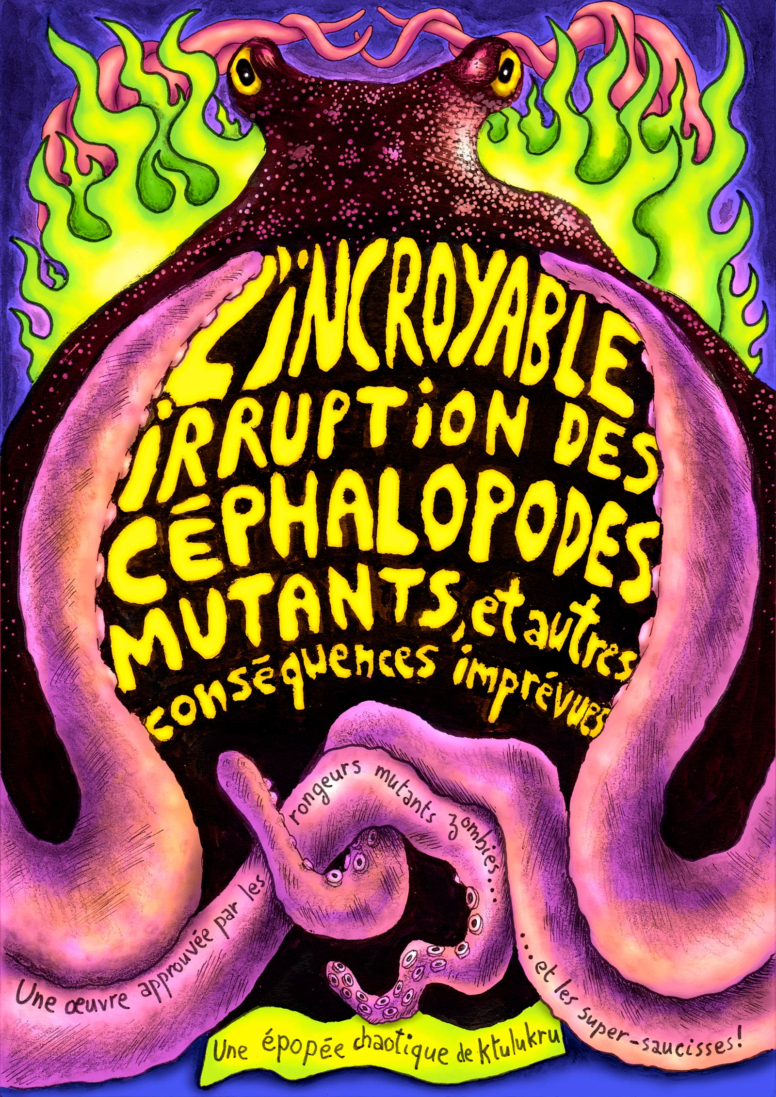 L'incroyable irruption des céphalopodes mutants