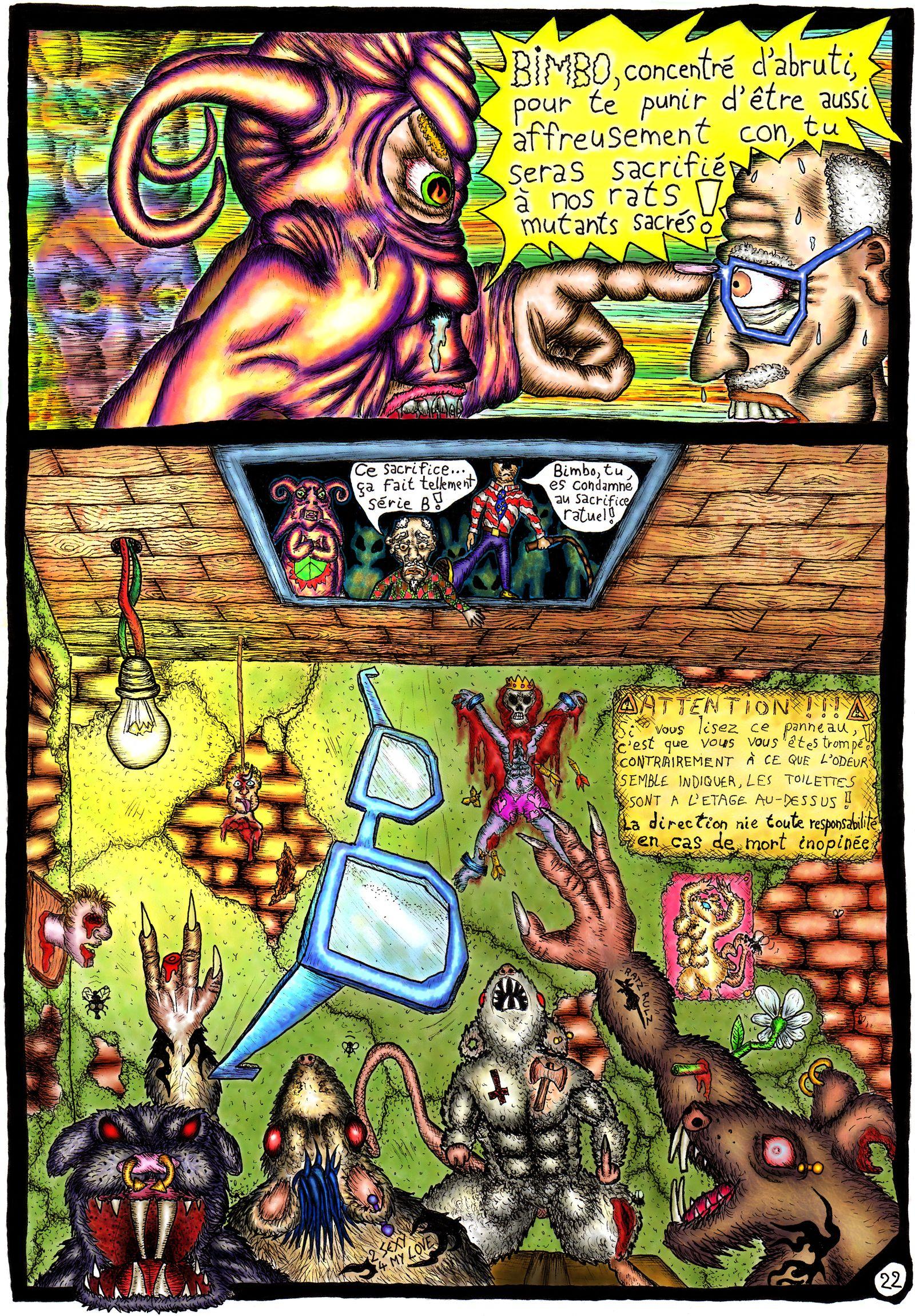 Les rats mutants zombies ont la dalle !