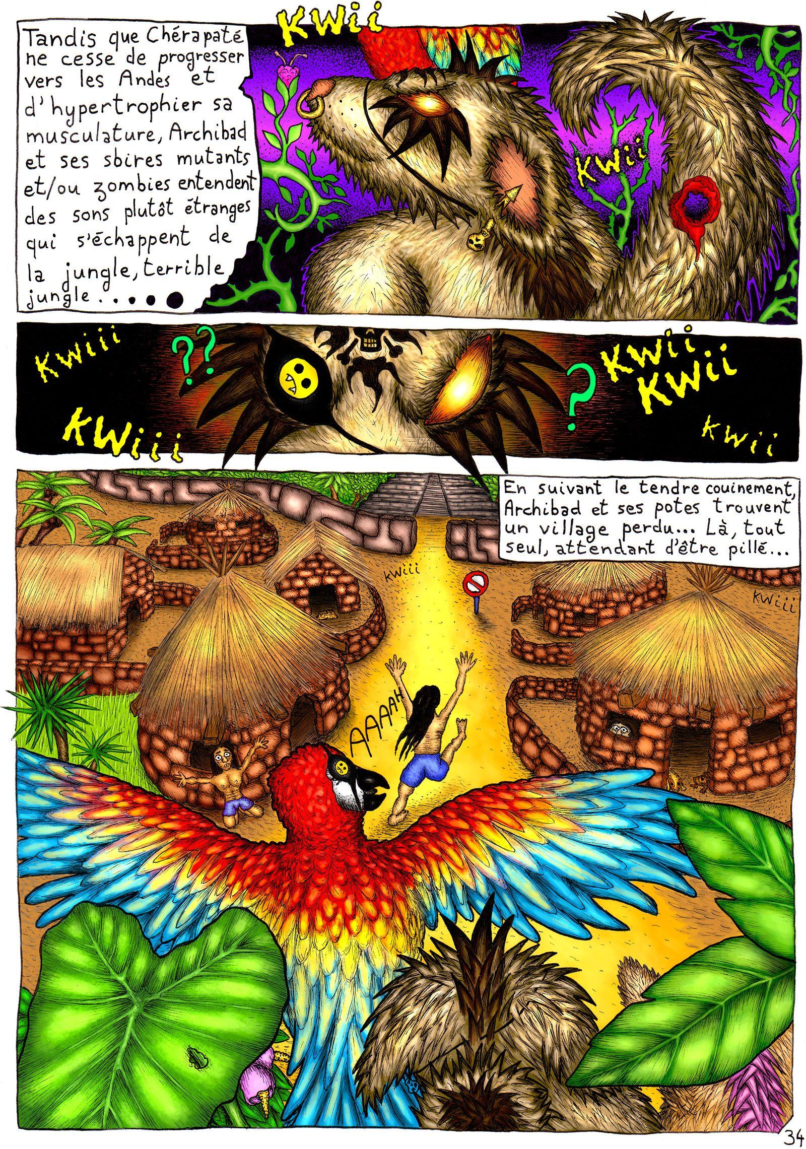 La rencontre entre les péruviens et les rongeurs mutants
