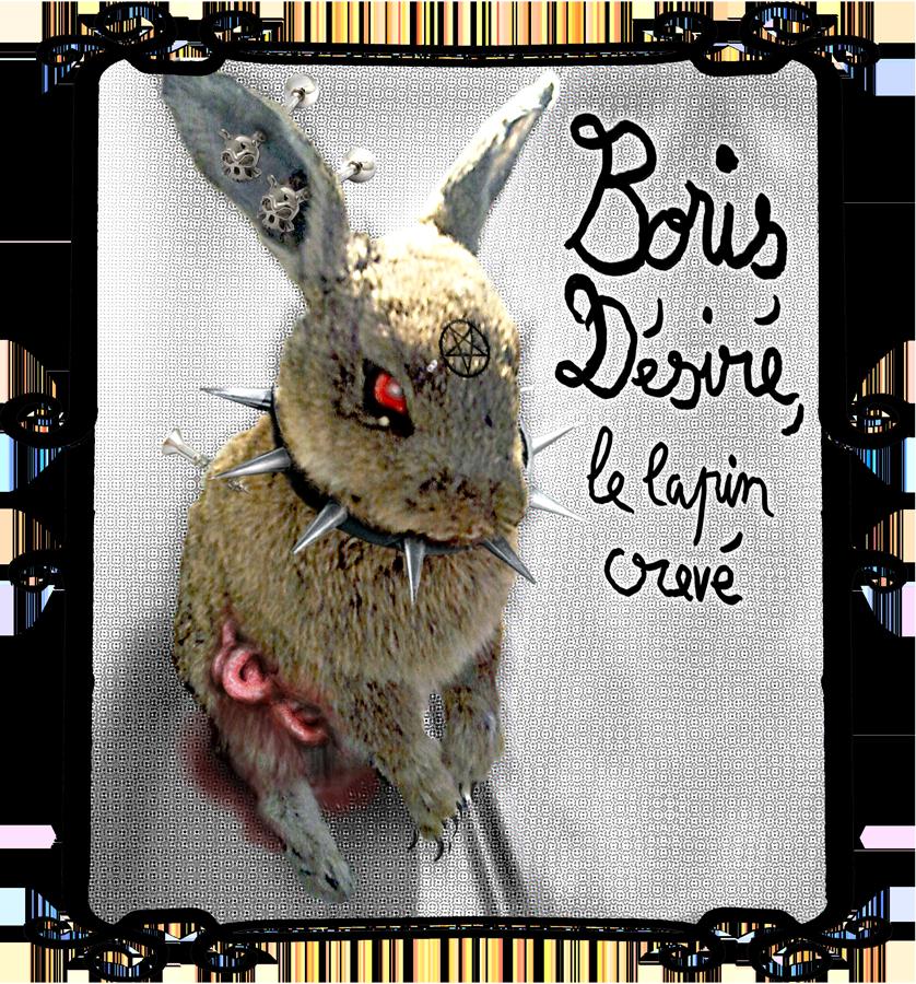 Boris Désiré le lapin crevé