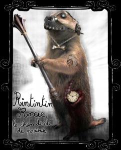 Rintintin Roxie, le chien décédé de prairie