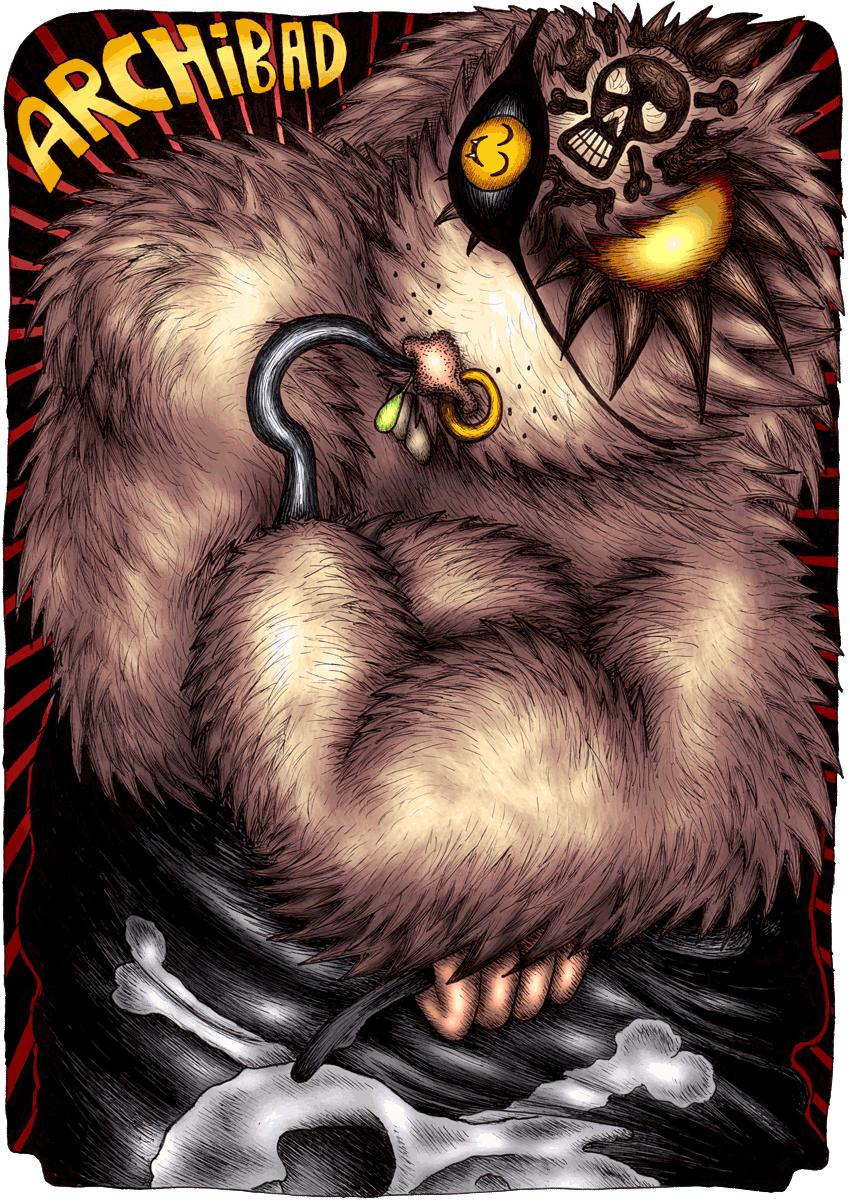 Archibad l'écureuil pirate