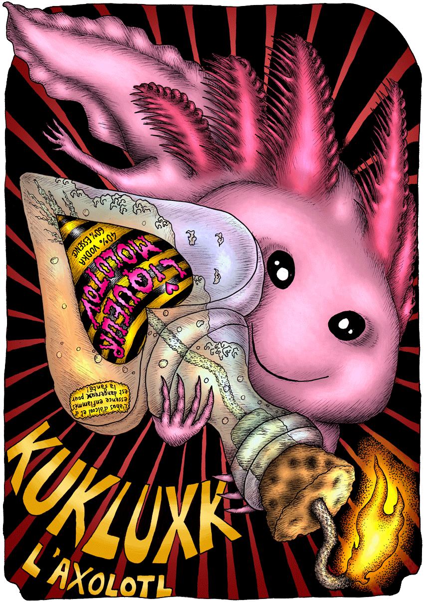 Kukluxk l'axolotl