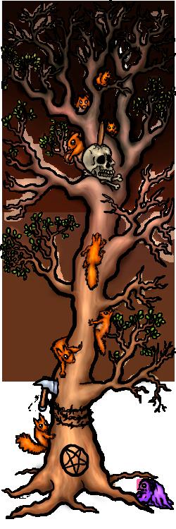 ktulukru et l'arbre aux écureuils diaboliques