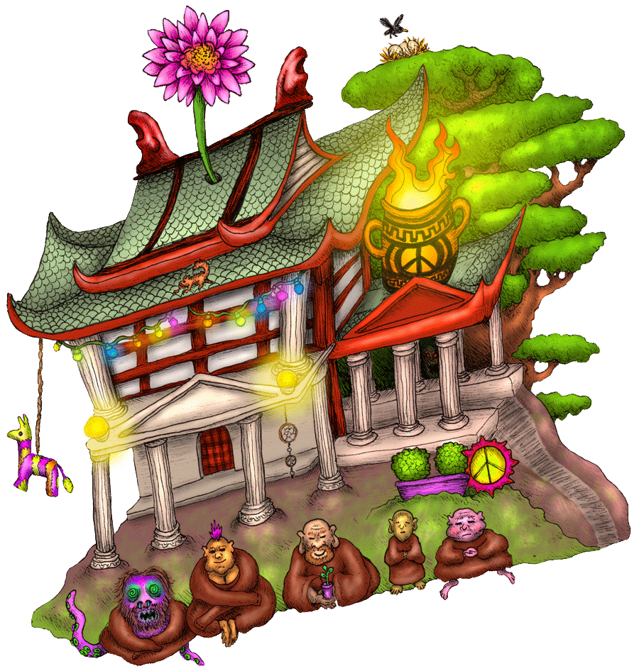 le temple où vécut ktulukru