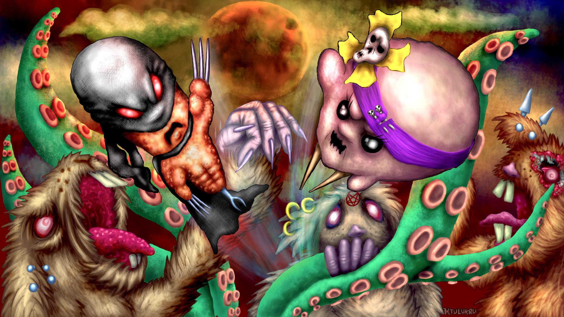 ZuperWurst, Bouli, les rongeurs mutants et autres céphalopodes